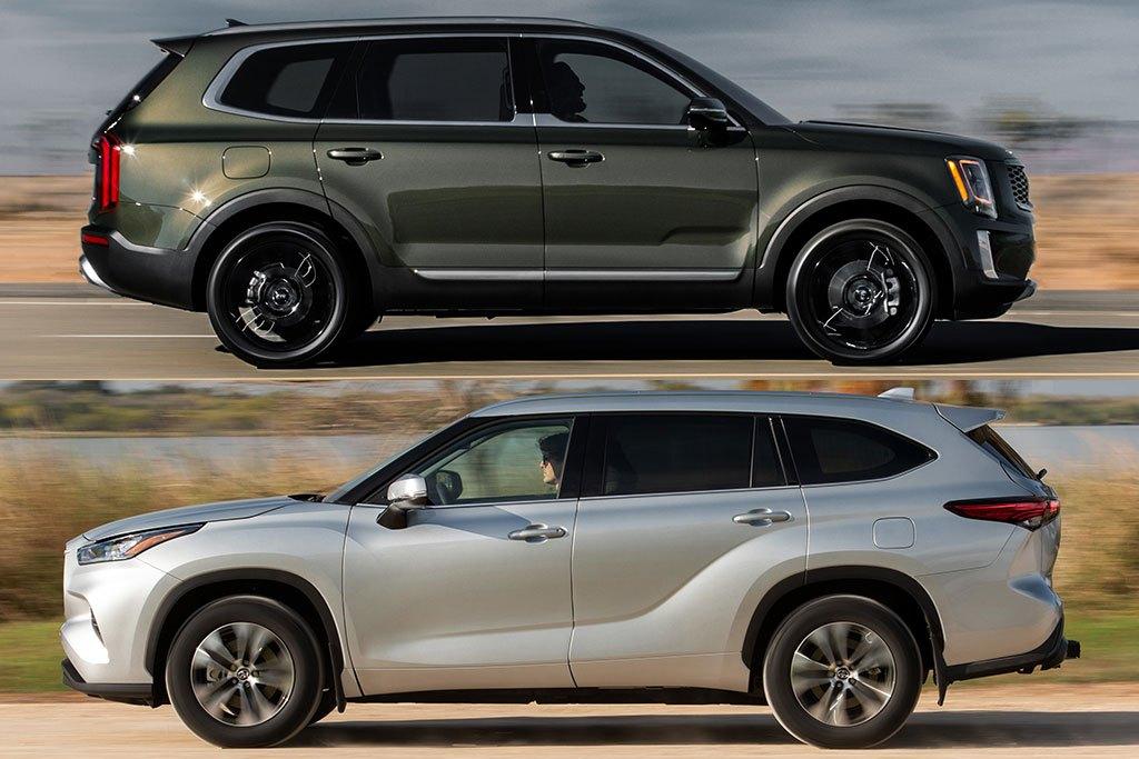 2020 Kia Telluride vs. 2020 Toyota Highlander: Which Is Better?
