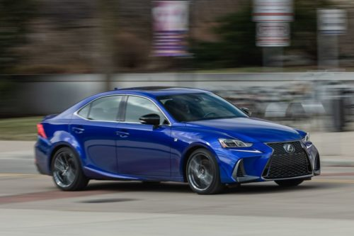 Tested: 2020 Lexus IS350 F Sport AWD Is Showing Signs of Age