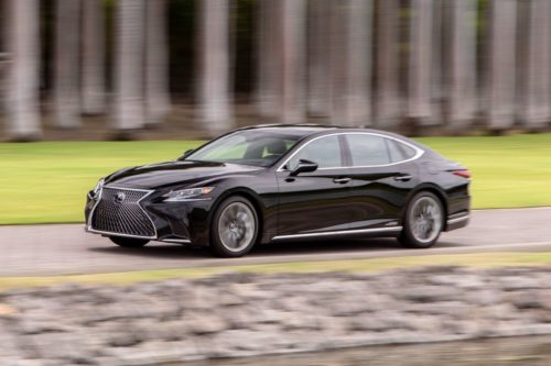 2020 Lexus LS500h Struggles to Make Its Case