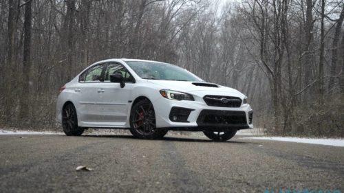 2020 Subaru WRX Series.White Review: Snow dancer