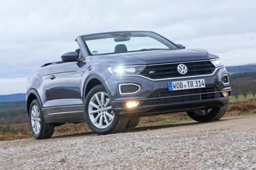 First Drive: 2021 VW T-Roc Cabriolet Is Another Try at the Convertible SUV