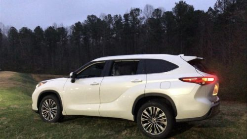 2020 Toyota Highlander Platinum Review
