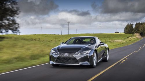 2021 Lexus LC 500 and LC 500h receive modest updates and Android Auto