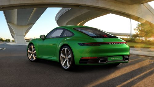 2021 Porsche 911 Updated with New Color, Additional Features