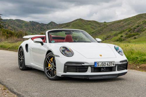 2021 Porsche 911 Turbo S Cabriolet: Fast Headroom