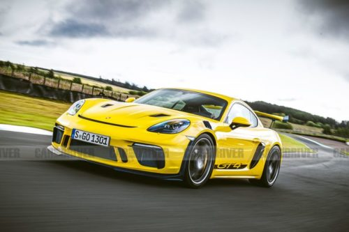 Upcoming Porsche 718 Cayman GT4 RS Could Have 500 HP