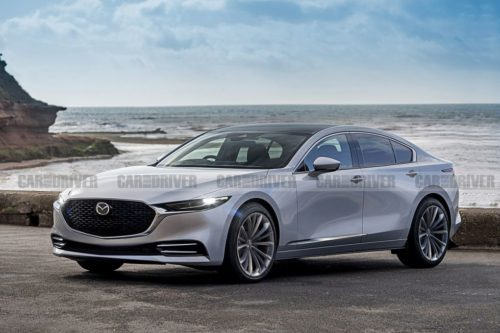 Next-Gen Mazda 6 Switching to RWD Layout, Inline-Six Power