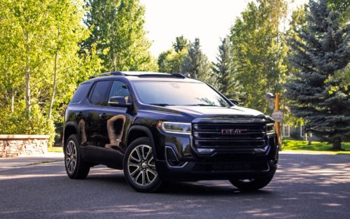 2020 GMC Acadia AT4 review