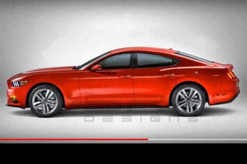 Ford Mustang four-door invokes Falcon spirit