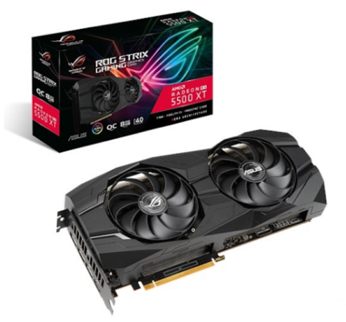 Asus ROG Strix RX 5500 XT O8G Gaming Review: Premium Card, but Worth the Price?