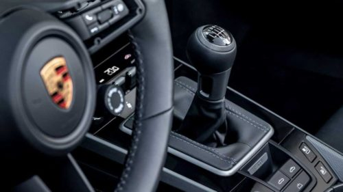 Porsche offers a seven-speed manual transmission for 911 Carrera S and 4S