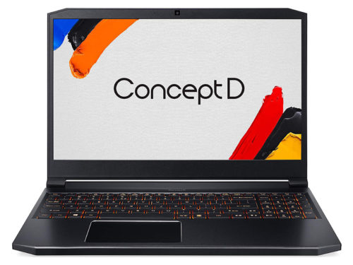 Acer ConceptD 5 17 inch Review: Missed the passing lane