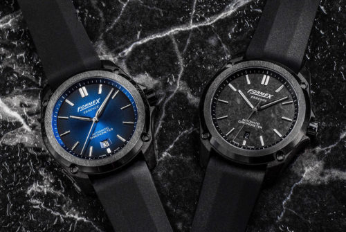 These Carbon and Ceramic Watches Feature a Built-In Suspension System