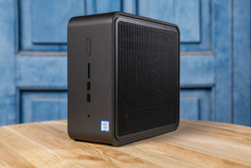 Intel NUC9VXQNX Review an 8 Core Xeon and GPU Capable NUC Option