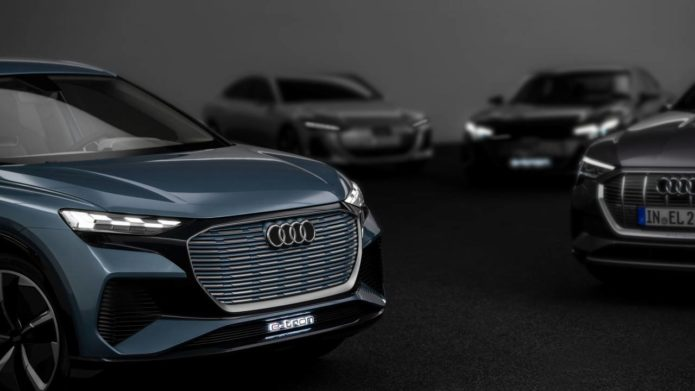 Audi is releasing 20 new EVs by 2025 using four dedicated electric platforms
