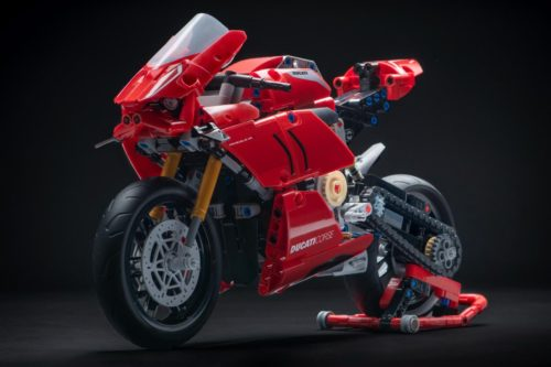 Lego Technic Ducati Panigale V4 R First Look: Motorcycle Model