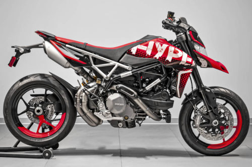 One-Off Ducati Hypermotard 950 Won By California Rider