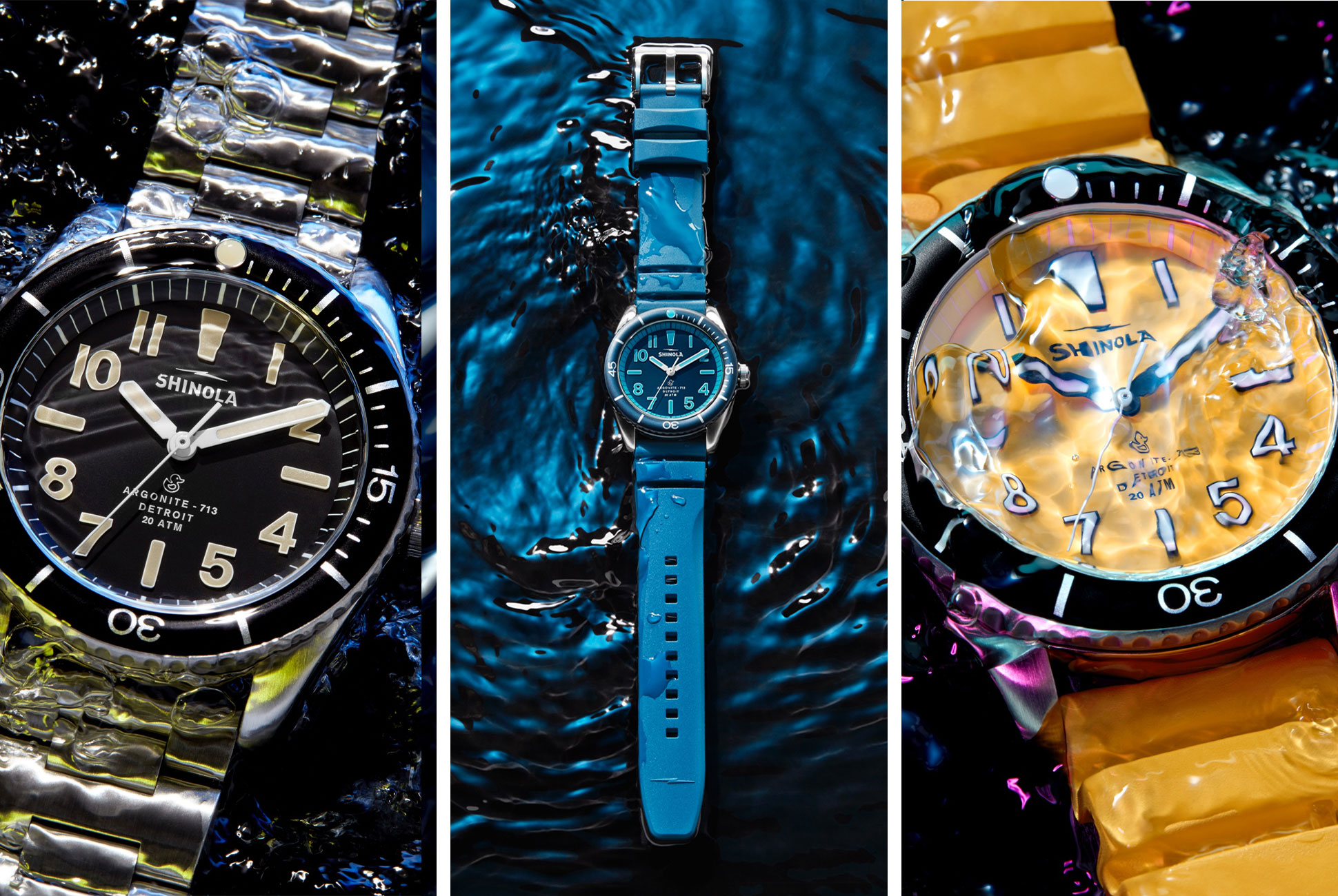 This Watch Is Made for Surfing in Detroit, of All Places