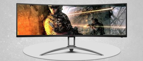 AOC Agon AG493UCX Monitor Review: 4 Feet of Mega-Wide Gaming Goodness