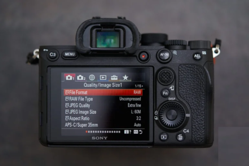 New Sony Firmware Updates All FE Cameras with Touchscreen Menus