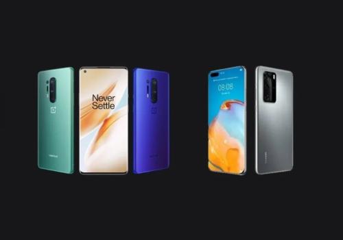 OnePlus 8 Pro vs Huawei P40 Pro specs comparison