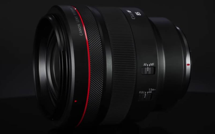 Canon Filed Patent for RF 85mm f/1.8 & RF 100mm f/2.8 Lenses