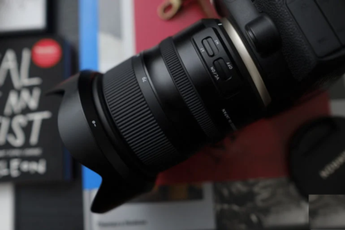 Did You Know That You Can Adjust Tamron's Lens Image Stabilization?
