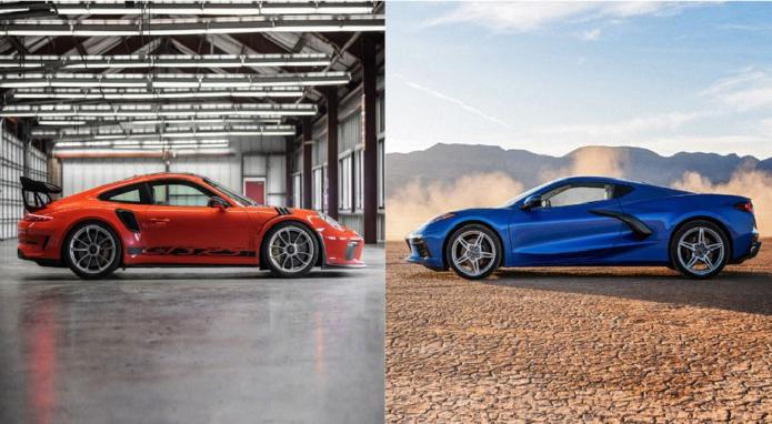 Our 2020 Chevy Corvette vs. 2019 Porsche 911 GT3 RS Test Numbers Show Porsche Wins