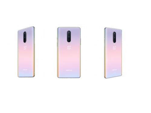 New version of OnePlus 8's Interstellar Glow color surfaces