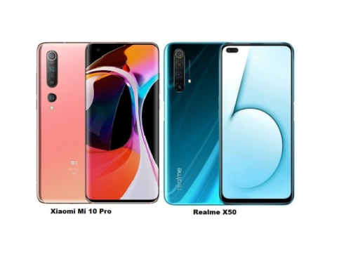 Xiaomi Mi 10 VS Realme X50 Pro Comparison: What is the Difference?