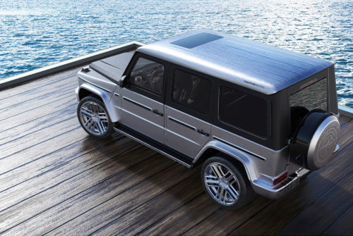 Almost No Car Can Match the Opulence of This Customized Mercedes G-Wagen