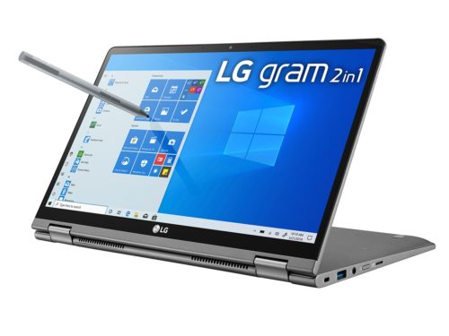 LG Gram 14T90N Convertible Review: A CPU Downgrade