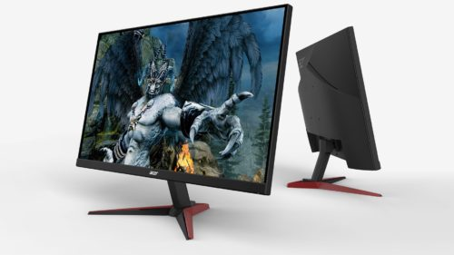 Acer Nitro VG240Y Pbiip review – a 144Hz monitor with FreeSync and deep OSD menu