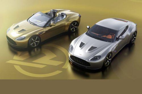 Aston Martin Vantage V12 Zagato Heritage Twins launched