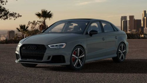2020 Audi RS 3 Nardo edition limited to 200 units in the US