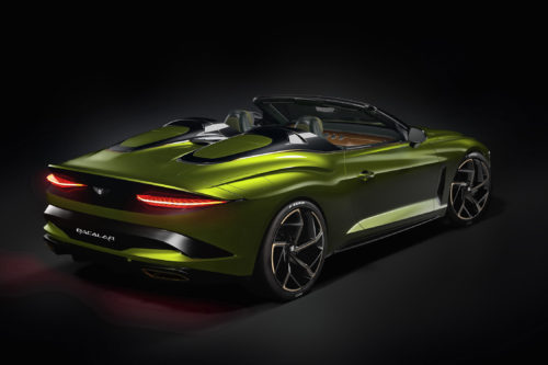 Bentley Dresses Up Bacalar in Wild Color and Design Treatments