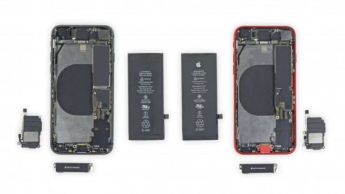 iPhone SE 2020 iFixit teardown reveals iPhone 8 interchangeable parts