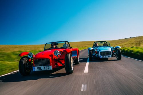New entry-level Caterham Super Seven 1600 arrives