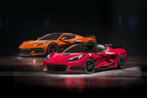 Chevy Corvette C8 High-Performance Models' Powertrain Details Leaked