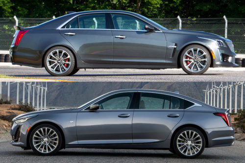 2019 Cadillac CTS vs. 2020 Cadillac CT5: What's the Difference?