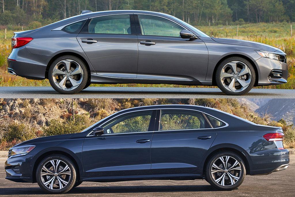 2020 Honda Accord VS 2020 Volkswagen Passat