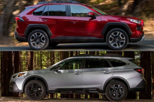 2020 Toyota RAV4 vs. 2020 Subaru Outback: Which Is Better?