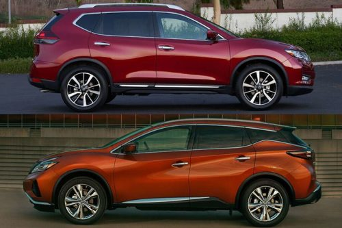 2020 Nissan Rogue vs. 2020 Nissan Murano: What's the Difference?