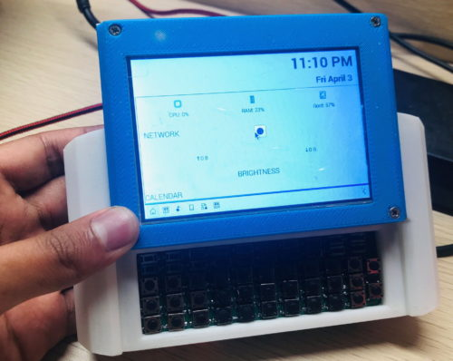 Raspberry Pi: Turn the popular single-board computer into a handheld computer with a slide-out keyboard and display
