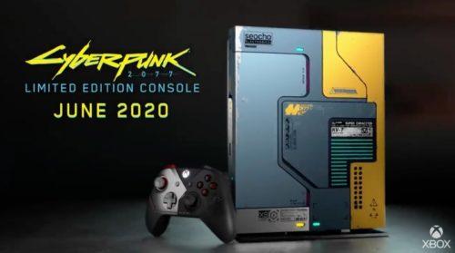 Cyberpunk 2077 gets a glow in the dark Xbox One X