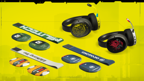 SteelSeries unveils range of limited edition Cyberpunk 2077 gaming headsets