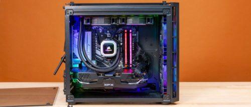 Corsair Vengeance 6182 Review: All-AMD Prebuilt