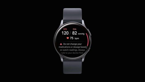 Galaxy Watch Active 2 blood pressure monitoring is coming next quarter