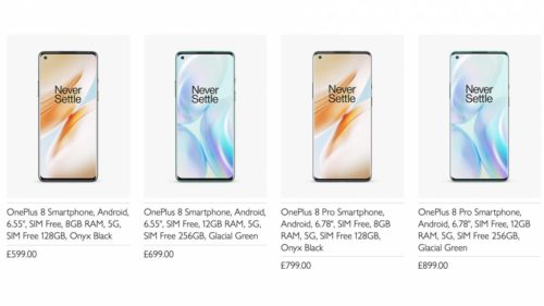Not even officially announced, the new OnePlus 8 range is already on sale [Updated]