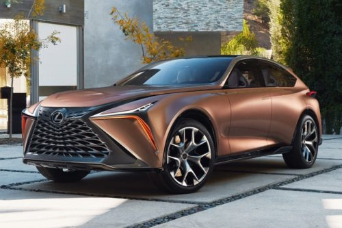 Flagship 450kW Lexus LQ SUV on the way